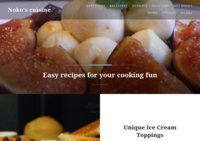 Easy recipes from Noko's cuisine