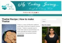 My Cooking Journey