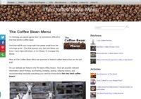 The Coffee  Bean Menu