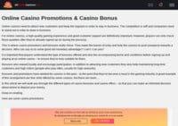 Allonlinecasinoslist - Casino Promotions