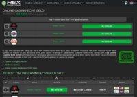 CasinoHEX - Top Online Casino Echtgeld