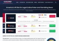 Legal Online Poker and Legislation Updates - OnlinePokerAmerica.com