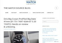 The Watch Source Blog