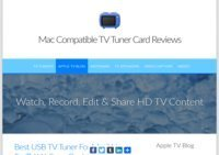HD TV Tuner Stick News For Apple Mac Computers