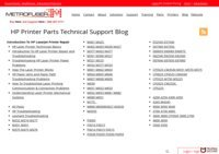 HP Printer Service And Parts