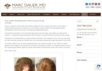 Hair Transplant Surgery Los Angeles - Marc Dauer MD Blog