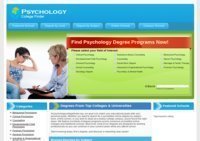 Psychology College Finder
