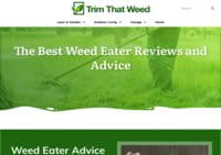 Trim That Weed - Home and Garden Resource