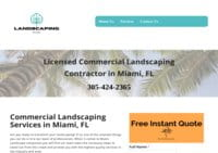 Commercial Landscaping Miami