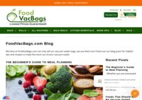 FoodVacBags.com Blog