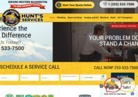 Hunt's Services Plumbing and Heating Tacoma Seattle