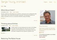 Serge Young, Architect