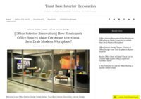 Trust Base Interior Decoration Blog - Interior Tips