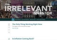 The Irrelevant Investor