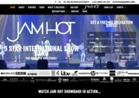 Jam Hot - International Show Band For Hire