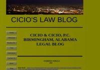 Cicio's Law Blog