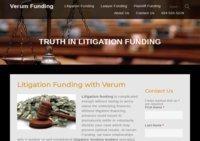 Litigation Financing with Verum