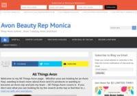 Avon Beauty Rep Monica