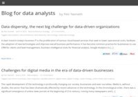 Blog for data analysts