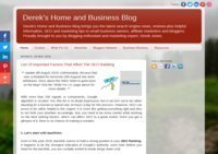 Derek's Home and Business Blog