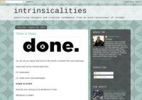 intrinsicalities