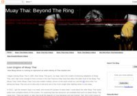 Muay Thai: Beyond the Ring
