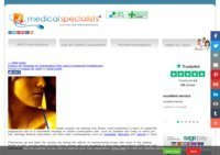 Medical Specialists Pharmacy News Desk