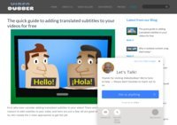 VideoDubber - The First Automated Dubbing and Subtitling Platform