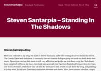 Steven Santarpia - Standing In The Shadows