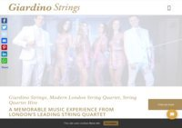 Giardino Strings - Wedding Musicians