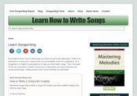 Learn How to Write Songs