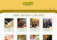 Music Screen | Royalty free music