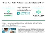 Home Health Care News and Information