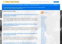 Penny Stock Dream Blog