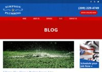 The Simpson Plumbing Blog