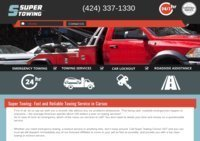 Professional Towing & Roadside Help Services in Carson, CA - Super Towing