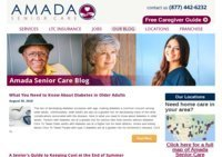Amada Senior Care Blog - Senior Resources