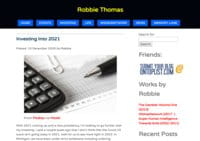 Life and Times of Robbie Thomas