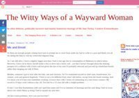 The Witty Ways of a Wayward Wife