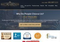 Baumgartner Law Firm- Houston personal injury attorney