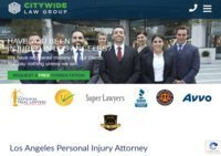 Los Angeles Personal Injury Attorney | Citywide Law Group