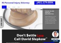 DAVID SLEPKOW - Rhode Island personal injury attorney