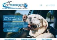 Pet Transport Pro Services