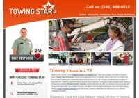 Towing Houston | 24 Hour Car Towing Services By Towing Star