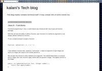 Kalani's Tech Blog