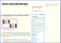 Robert James Metcalfe Blog