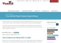 VanEd Real Estate Agent Blog