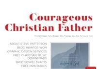 Couragoeus Christian Father