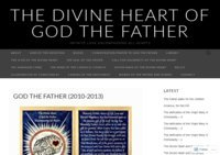 The Divine Heart of God the Father Encompassing All Hearts