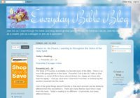 Everyday Bible Blog
